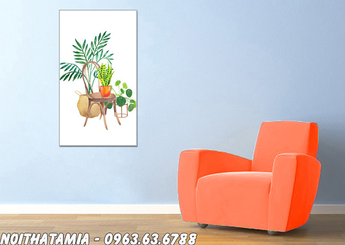 Hình ảnh Ghế sofa đơn phòng ngủ đẹp hiện đại với gam màu cam nổi bật