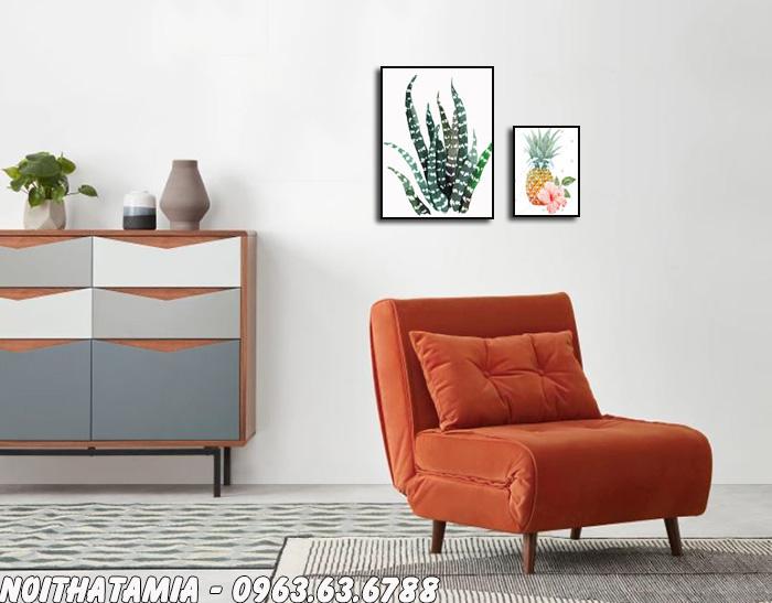 Hình ảnh Ghế sofa mini bài trí trong phòng ngủ gia đình