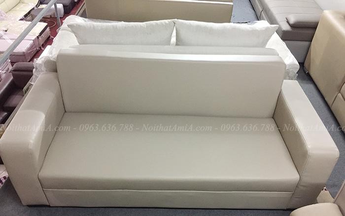 Hình ảnh Ghế sofa văng da đẹp hiện đại giá rẻ tại Nội thất AmiA