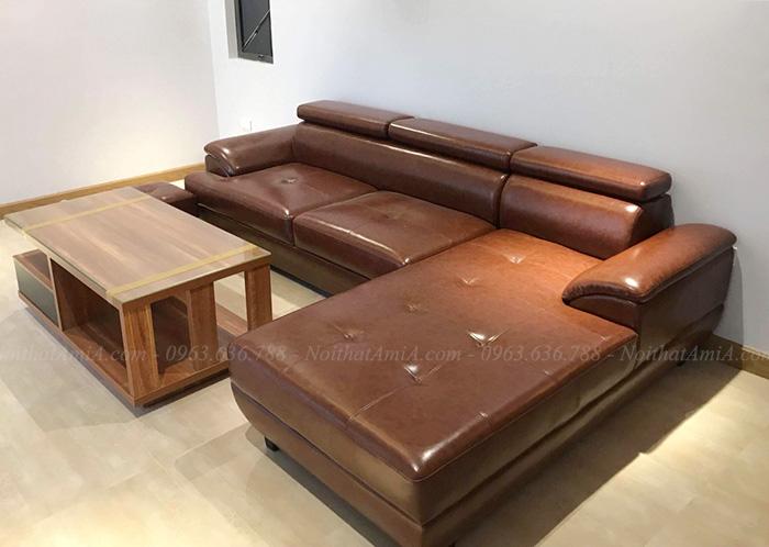 Hình ảnh bàn ghế sofa da đẹp hiện đại và sang trọng