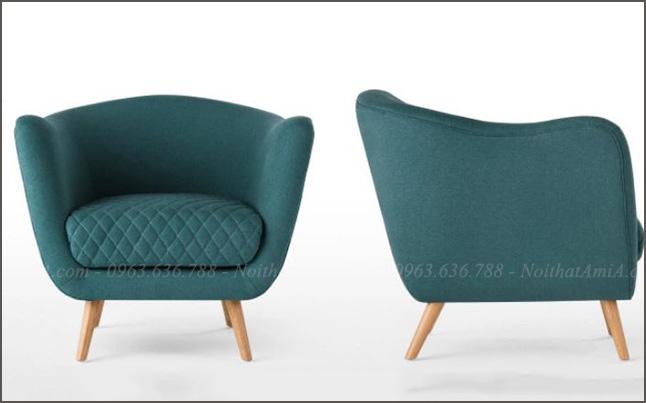 Hình ảnh ghế sofa đơn nhỏ xinh xắn