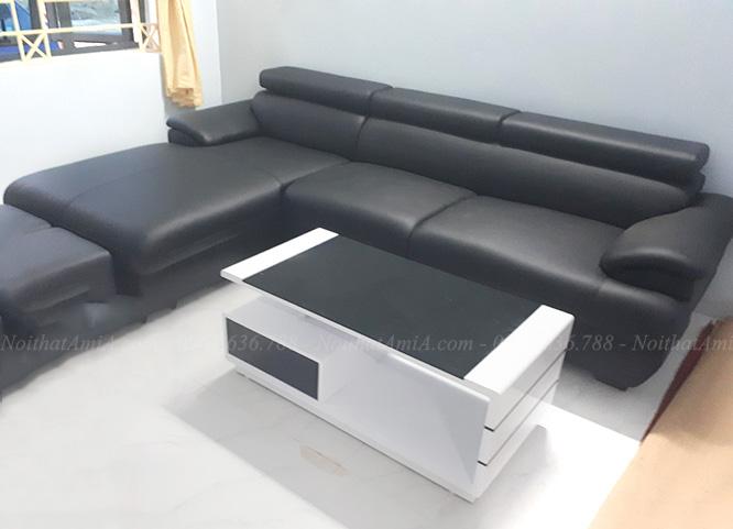 Hinh anh mau ghe sofa da dep cho phong khach gia dinh