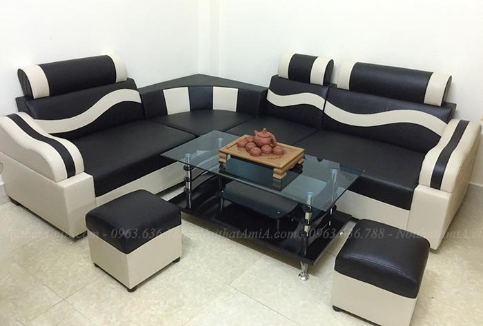 Hình ảnh Mẫu ghế sofa da đẹp giá rẻ tại Hà Nội