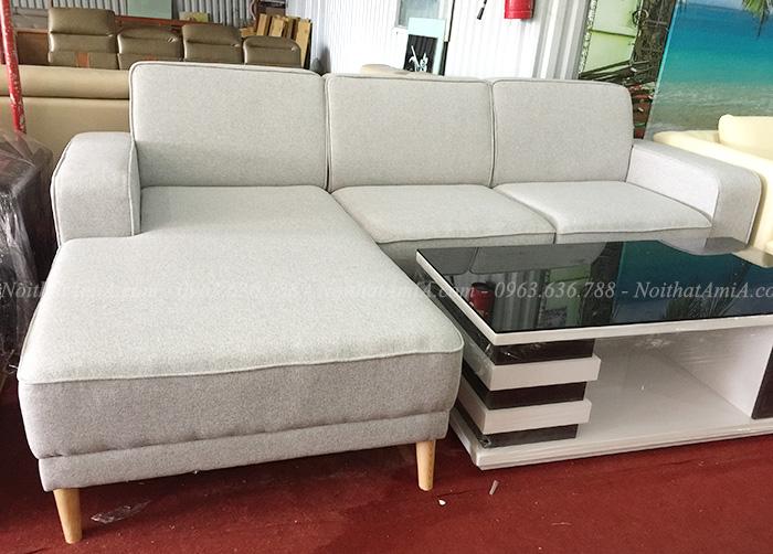Hình ảnh Mẫu ghế sofa nỉ phòng khách hiện đại tại Hà Nội