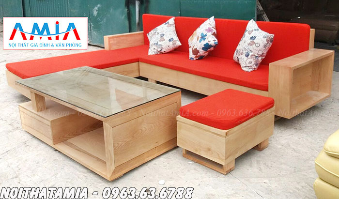 Hình ảnh Những mẫu sofa gỗ đẹp hiện đại giá rẻ cho phòng khách đẹp mê ly
