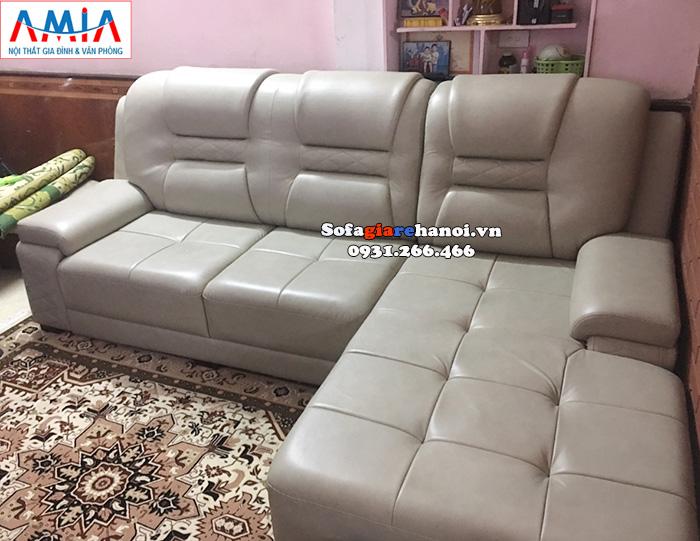 Hình ảnh Sofa da đẹp giá rẻ cho phòng khách lớn cao cấp