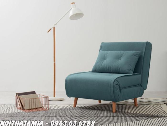 Hình ảnh Sofa đơn trong phòng ngủ nhỏ gia đình