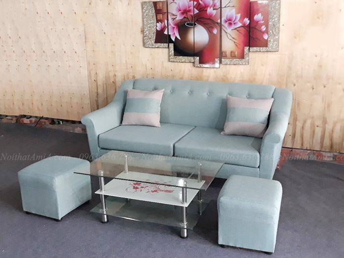 Hình ảnh Ghế sofa nhỏ xinh với hình ảnh thực tế tại Nội thất AmiA