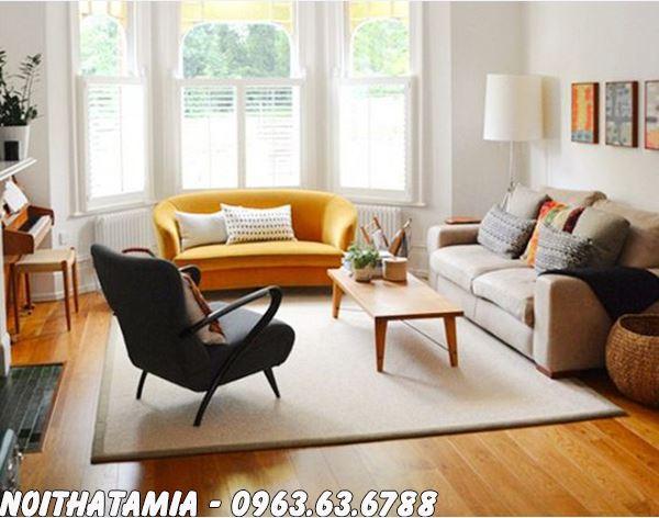 Hình ảnh Sofa phòng ngủ với nhiều kích cỡ lựa chọn