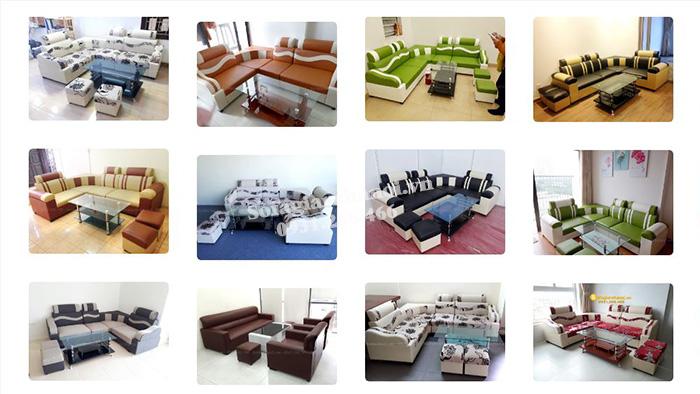 Hình ảnh mẫu ghế sofa giá rẻ đẹp 2 triệu đồng tại AmiA