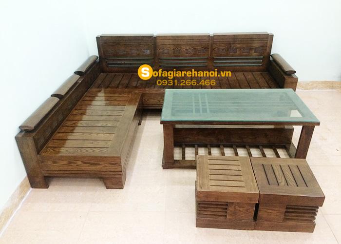 Hình ảnh Các mẫu sofa gỗ đẹp hiện đại giá rẻ tại AmiA