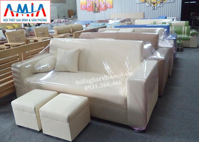 Hình ảnh Ghế sofa văng giá rẻ Hà Nội kích thước nhỏ xinh cho không gian nhỏ đẹp