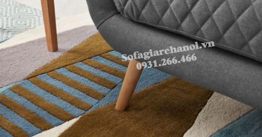 Hình ảnh chi tiết ghế sofa văng nỉ đẹp hiện đại tại Hà Nội