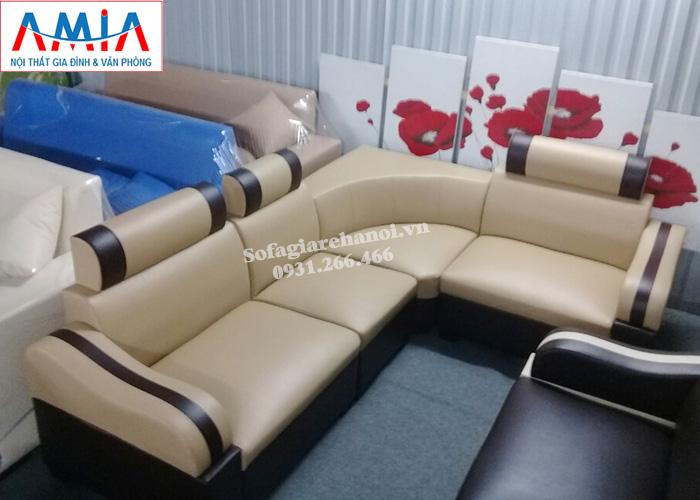 Hình ảnh Mẫu ghế sofa giá rẻ đẹp cho phòng khách nhỏ gia đình
