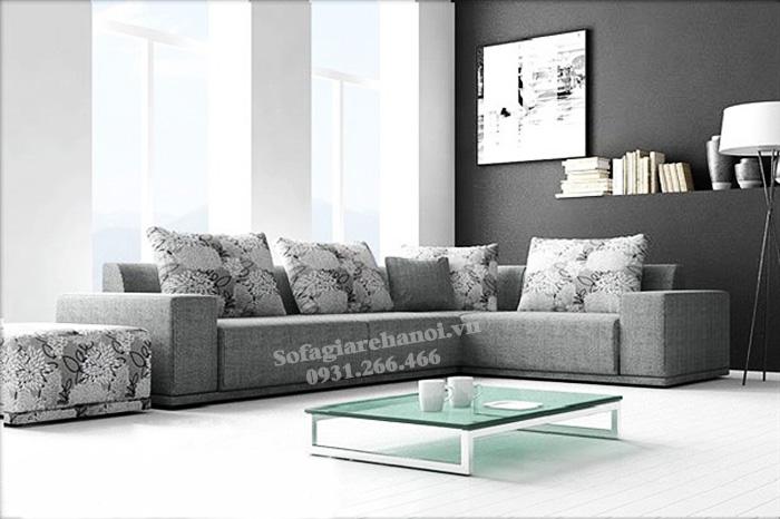 Hình ảnh Sofa nỉ đẹp cho phòng khách hiện đại và sang trọng gia đình bạn
