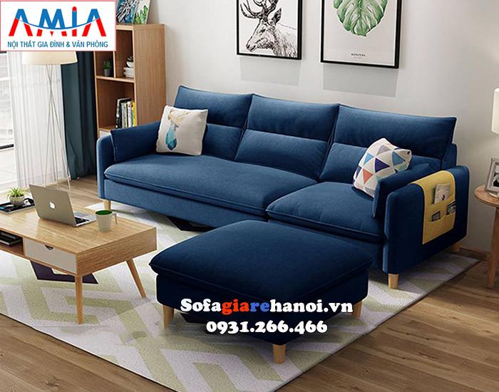 Bộ Ghế Sofa Màu Xanh Cô Ban Rất được Yêu Thích Và ưa Chuộng