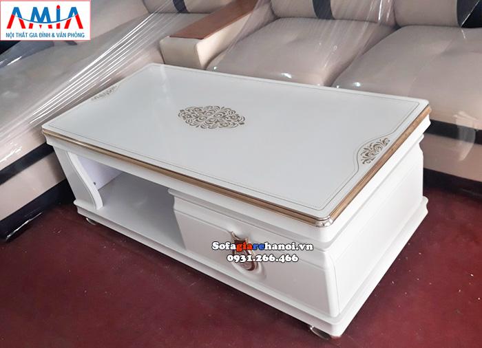 Hình ảnh Bàn sofa đẹp hiện đại sang trọng cho phòng khách gia đình