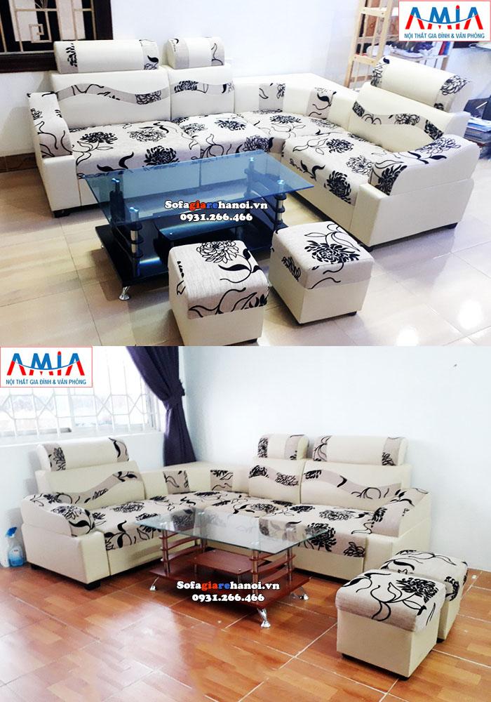 Hình ảnh Bàn sofa giá rẻ Hà Nội thiết kế đơn giản mà đẹp