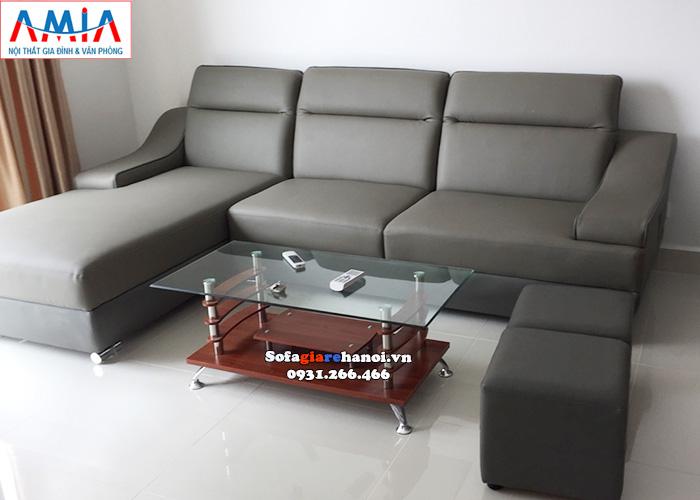 Hình ảnh Bàn trà sofa giá rẻ Hà Nội mặt kính đơn giản mà đẹp cho phòng khách gia đình