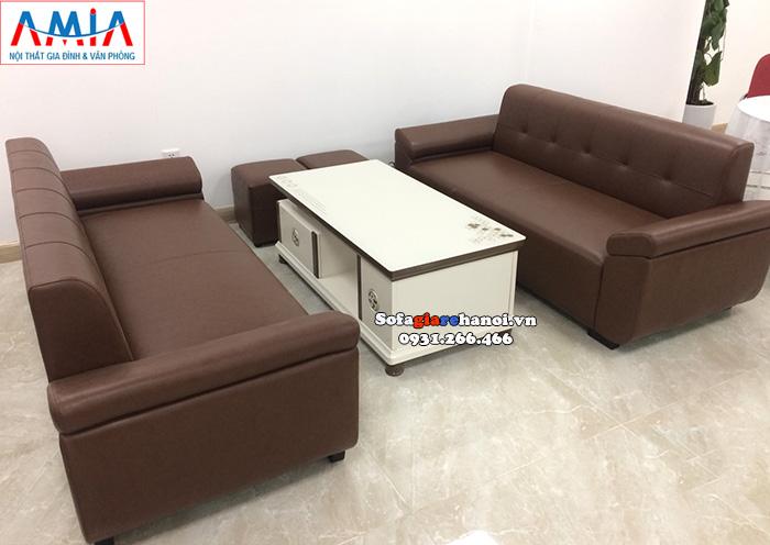 Hình ảnh Bàn trà sofa gỗ kính cao cấp cho phòng làm việc hiện đại, sang trọng
