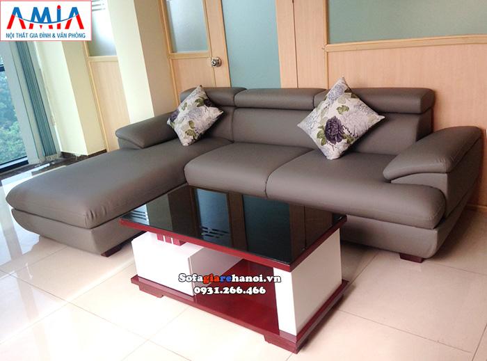 Hình ảnh Bàn trà sofa gỗ kính đẹp hiện đại giá rẻ tại Hà Nội