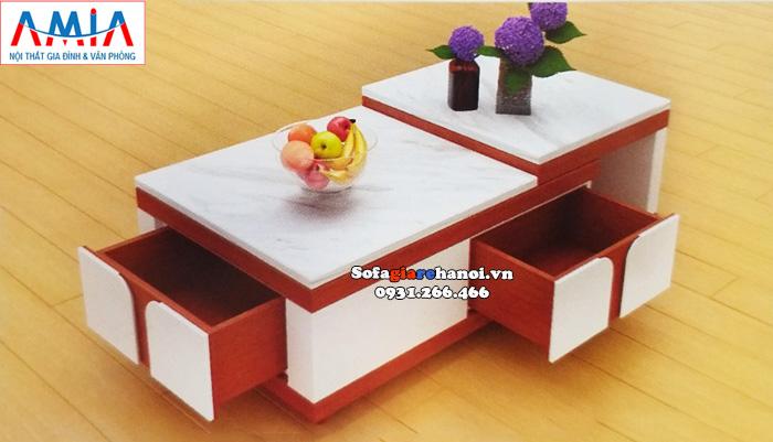 Hình ảnh Bàn trà sofa hiện đại cho phòng khách giá rẻ tại Hà Nội