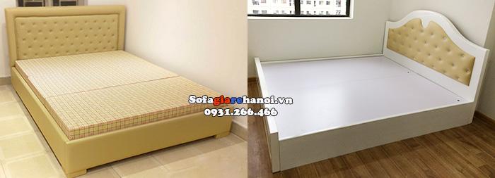 Hình ảnh Ghế sofa giường giá rẻ hiện đại cho phòng ngủ căn hộ chung cư