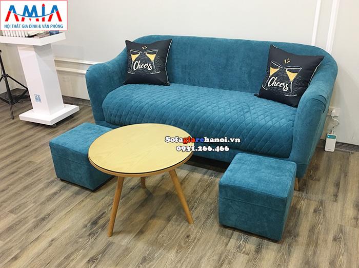 Hình ảnh Ghế sofa văng giá rẻ Hà Nội kê phòng khách đẹp hiện đại