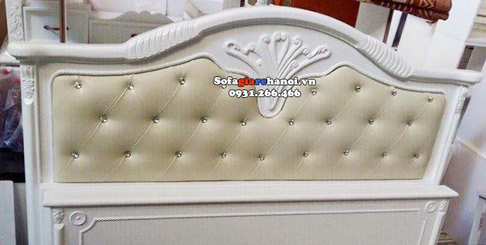 Hình ảnh Giường sofa giá rẻ đẹp hiện đại cho phòng ngủ căn hộ chung cư