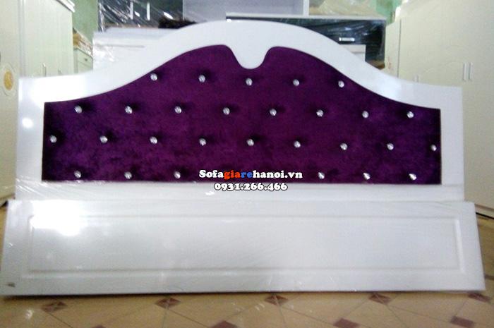 Hình ảnh Giường sofa giá rẻ Hà Nội đẹp hiện đại cho phòng ngủ đẹp
