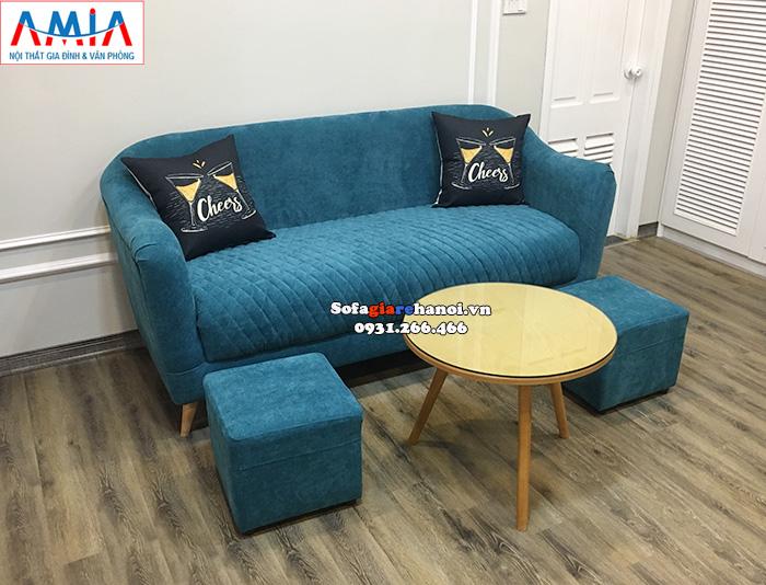 Hình ảnh Mẫu ghế sofa văng đẹp cho phòng khách hiện đại gia đình