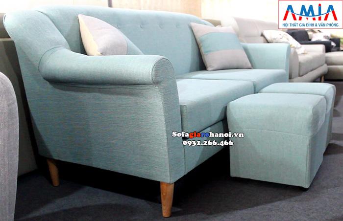 Hình ảnh Mẫu ghế sofa văng giá rẻ tại Hà Nội thiết kế hiện đại cho phòng khách đẹp