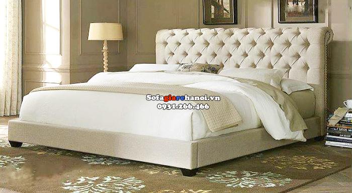 Hình ảnh Mẫu giường sofa giá rẻ Hà Nội cho phòng ngủ xinh xắn