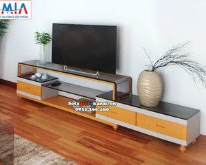 Hình ảnh Mẫu kệ tivi đẹp cho phòng khách hiện đại tại Hà Nội