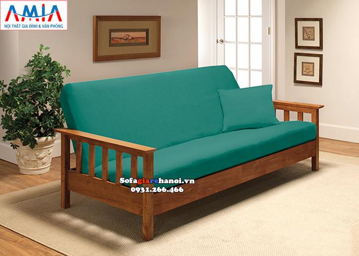Hình ảnh Mẫu sofa văng gỗ đẹp cho phòng khách hiện đại, sang trọng