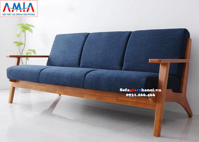 Hình ảnh ghế sofa văng gỗ giá rẻ cho phòng khách nhỏ, nhà nhỏ, nhà chung cư
