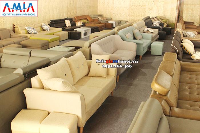 Hình ảnh mua sofa văng ở đâu đẹp tại Hà Nội vừa uy tín vừa chất lượng