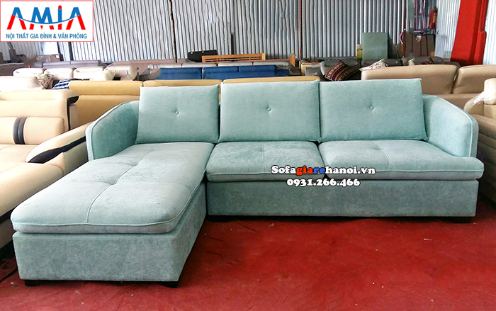 Hình ảnh Mẫu sofa chữ L đẹp giá rẻ kê phòng khách đẹp gia đình