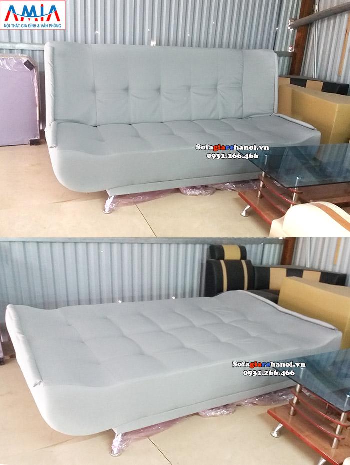Hình ảnh Sofa giường giá rẻ Hà Nội thiết kế gấp đa năng rất tiện lợi và linh hoạt