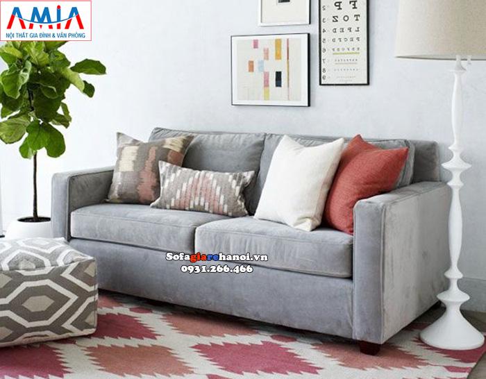 Hình ảnh Ghế sofa văng kích thước nhỏ 2 chỗ cho phòng khách nhỏ, nhà nhỏ, chung cư nhỏ