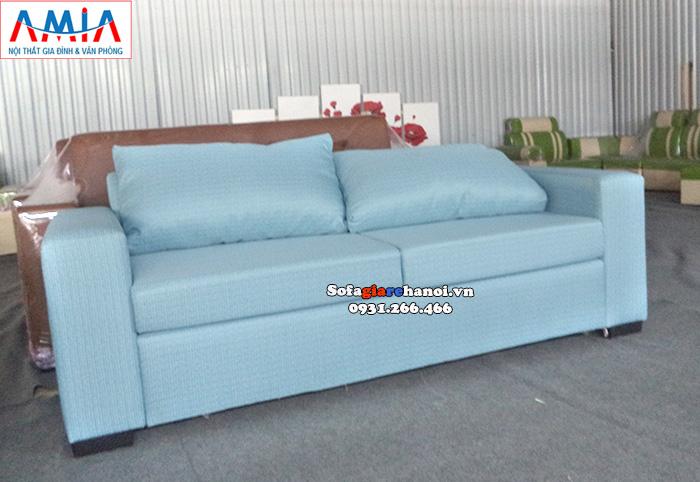 Hình ảnh Mẫu ghế sofa văng nhỏ mini giá rẻ thiết kế đơn giản mà đẹp cho phòng khách xinh xắn