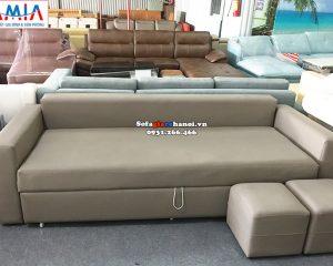 Hình ảnh Ghế sofa giường giá rẻ tại Hà Nội thiết kế thông minh, đa năng
