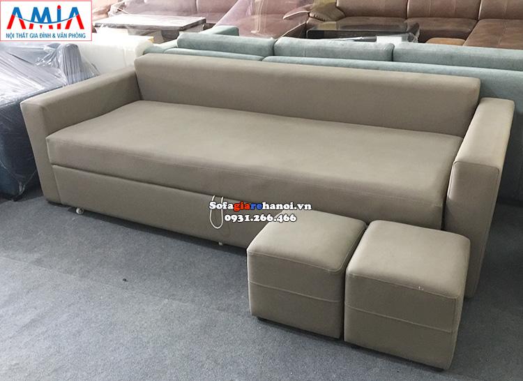 Hình ảnh Ghế sofa kết hợp giường ngủ thông minh, đa năng rất tiện lợi