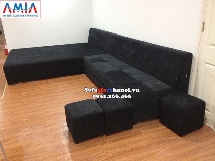 Hình ảnh ghế sofa phòng tập gym theo yêu cầu tại xưởng sản xuất sofa AmiA