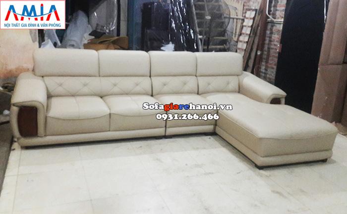 Hình ảnh sofa da cho phòng khách lớn giá rẻ tại Xưởng sản xuất sofa AmiA