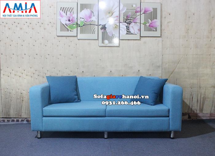 Hình ảnh Sofa giá rẻ cho nhà chung cư thiết kế dạng sofa văng nỉ nhỏ 2 chỗ