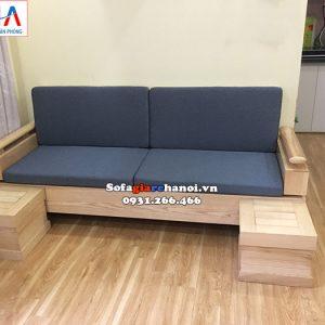 Hình ảnh Sofa văng gỗ cho phòng khách nhỏ, nhà nhỏ, chung cư nhỏ mini