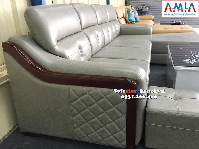 Hình ảnh ghế sofa da đẹp cho nhà rộng, phòng khách lớn