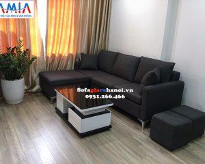Hình ảnh Ghế sofa nỉ đẹp giá rẻ cho chung cư hiện đại