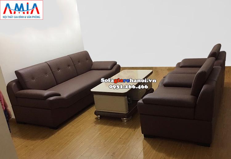 Bàn ghế sofa phòng khách giá rẻ Hà Nội AmiA SFD203